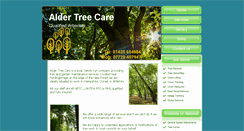 Preview of aldertreecare.co.uk